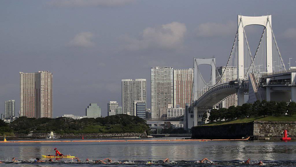 Hitze und Verschmutzung bereiten Olympia-Organisatoren sorgen