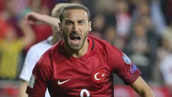 Matchwinner für die Türkei: Cenk Tosun