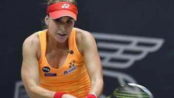 Belinda Bencic kommt nicht auf Touren