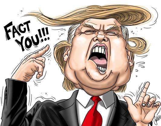 Mit den Fakten hatte es der US-Präsident nicht so. Laut den Faktencheckern der «Washington Post» hat er seit seiner Amtseinsetzung 30' 524 Falschaussagen gemacht.