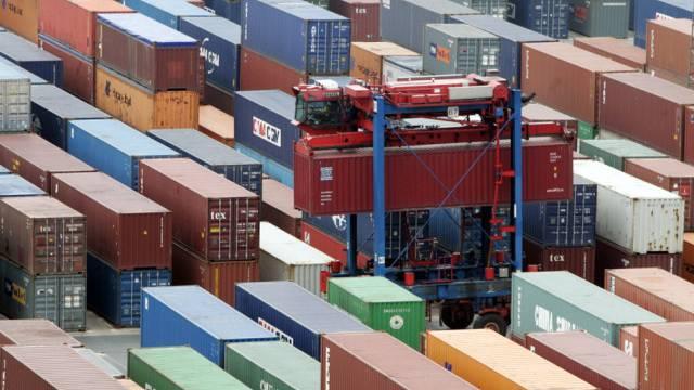 Container-Ladungen als Treibmittel für die Weltwirtschaft (Archiv)
