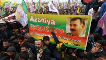 Kundgebung der Öcalan-Anhänger am Samstag in Diyarbakir