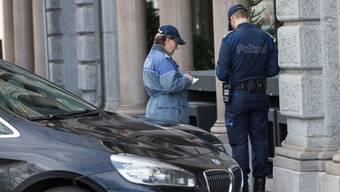 Hunderttausende Ordnungsbussen verteilen die Schweizer Polizeikorps jährlich.