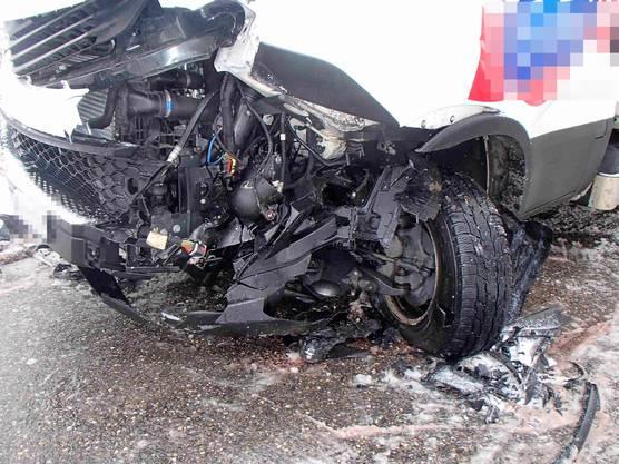 Full-Reuenthal AG, 31. Januar: Es entstand ein Sachschaden von rund 30'000 Franken.