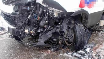 Unfälle auf winterlichen Strassen im Aargau am 31. Januar 2019