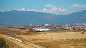 Der internationale Flughafen Kathmandu in Nepal hat seine besten Tage schon hinter sich.