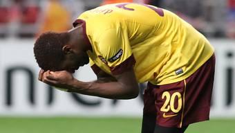 Es ist zum Verzweifeln für Johan Djourou