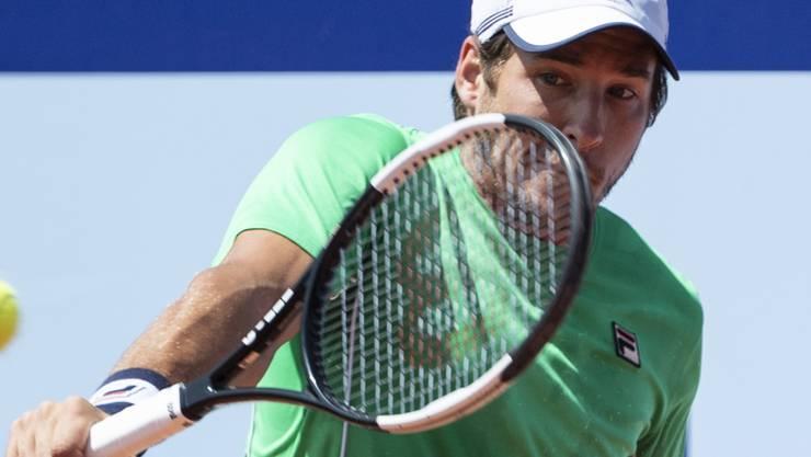 Dusan Lajovic kam als Turniersieger von Umag nach Gstaad und zählt im Saanenland diese Woche zu den Topfavoriten