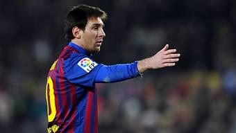 Lionel Messi führte gegen Malaga Regie