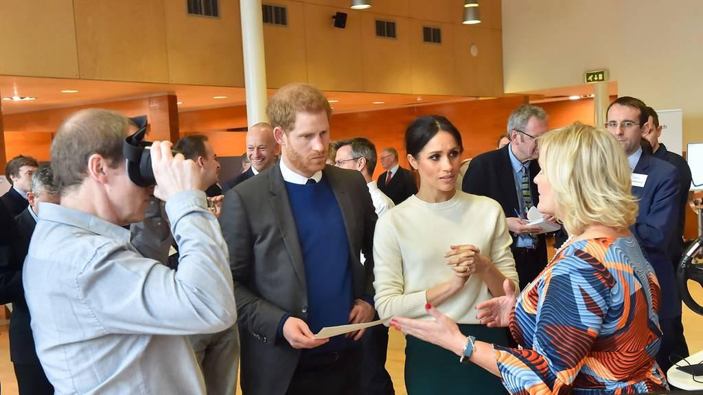 Harry und Meghans letzter Tag als Vollzeit-Royals