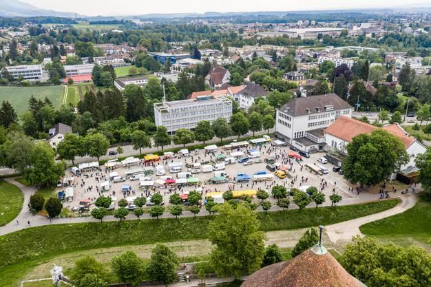 Der erste Solothurner Märet nach dem Corona-Lockdown hatte auf dem Schanzenplatz stattgefunden.