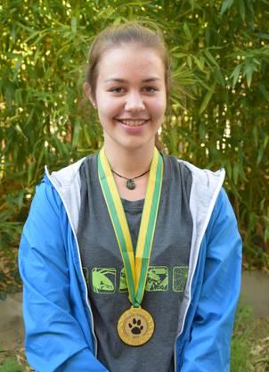 Goldmedaille: Jana Meier aus Würenlingen (Kantonsschule Wettingen)