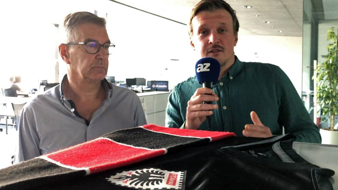 FCA-Talk vor dem letzten regulären Saison-Spiel gegen Rapperswil-Jona im Brügglifeld.