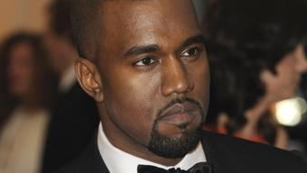 Album bereits im Netz: Rapper Kanye West (Archiv)