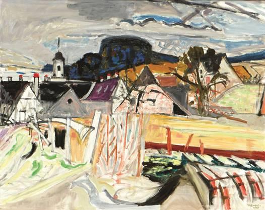 Klosterdächer von Max Gubler