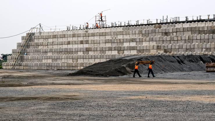 Der riesige Dioxin-Verdampfungsofen in Da Nang. Mit der Sanierung wurde hier bereits 2012 begonnen.