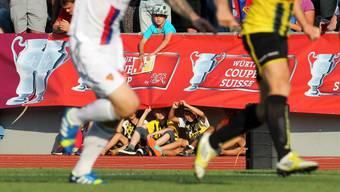 Bei den Old Boys kamen Erinnerungen auf an das unglückliche Ausscheiden im Vorjahr gegen den FC Basel.