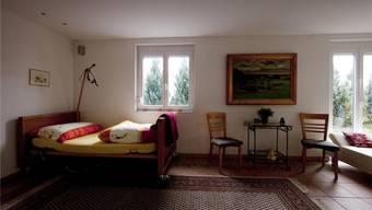 In diesem Raum in einem Industriequartier in Pfäffikon ZH sterben mehrere hundert Menschen pro Jahr mit Dignitas.