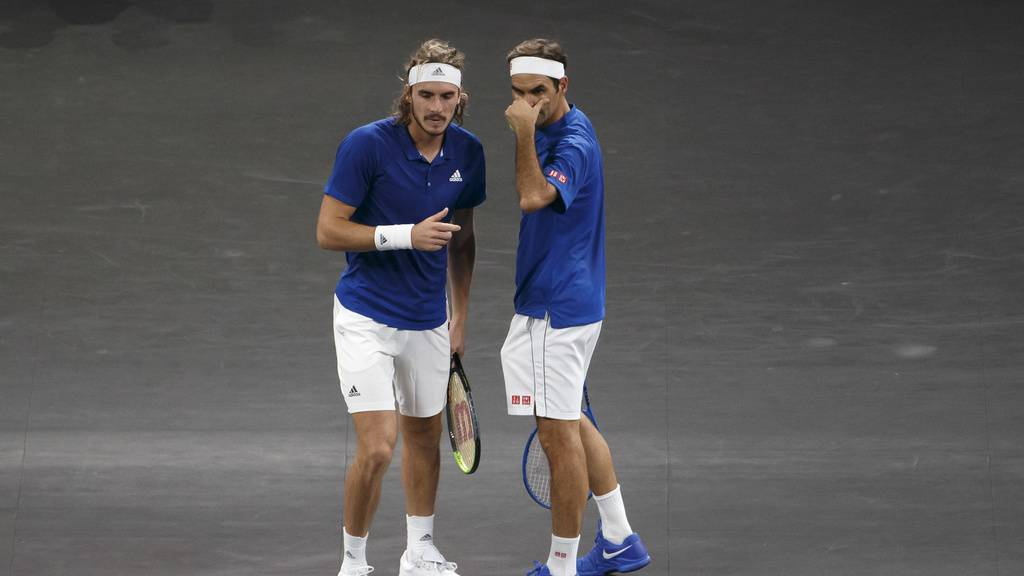 Federer im Halbfinal gegen Tsitsipas