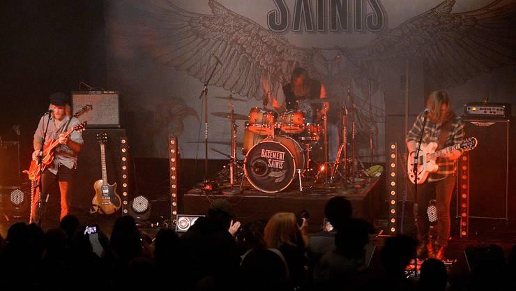 Plattentaufe der Basement Saints in der Kulturfabrik Kofmehl
