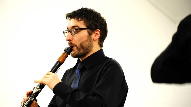 Der Soloklarinettist Martin Hüsler huldigte dem Jahr der Klarinette.