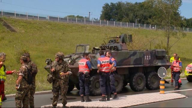 Sechs Soldaten bei Panzer-Crash verletzt