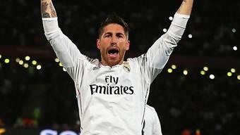 Sergio Ramos liess die Madrilenen das 1:0 bejubeln
