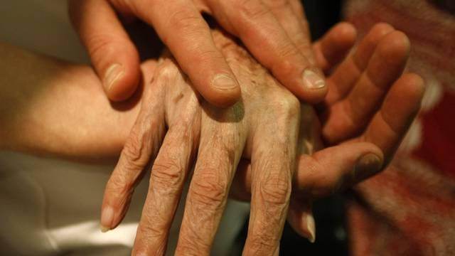 Der Europäische Gerichtshof für Menschenrechte muss sich mit einem Fall von Sterbehilfe befassen (Symbolbild)