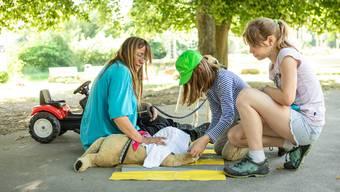 Ferienlager Chrüzacher: Tierpflegerinnen