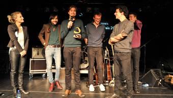 Die Verleihung des Basler Pop-Preises 2013