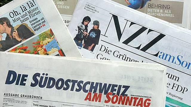 Nicht alle Sonntagszeitungen konnten Leser gewinnen (Archiv)