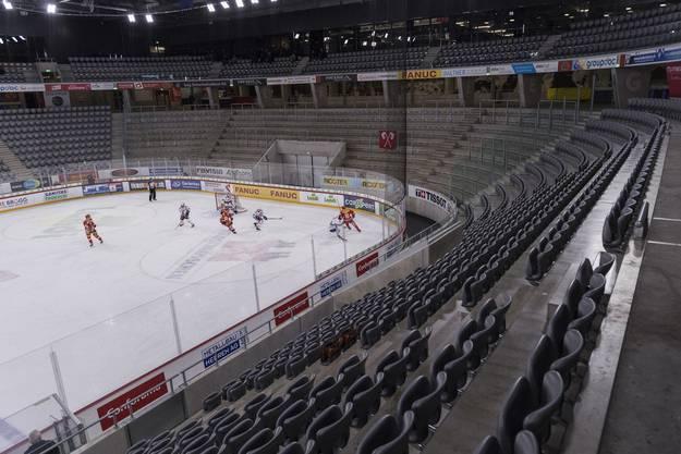 Die Eishockeyklubs wollen keine Spiele vor leeren Rängen mehr.