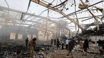 Die Bevölkerung Jemens leidet seit 2015 unter dem Bürgerkrieg.