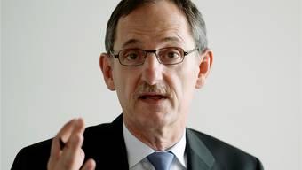Regierungsrat Mario Fehr nimmt mit Befriedigung den Verzichtsentscheid derJuso zur Kenntnis. KEYSTONE