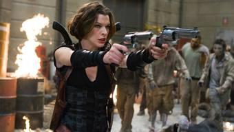 Kämpft im Film «Resident Evil» gegen Zombies
