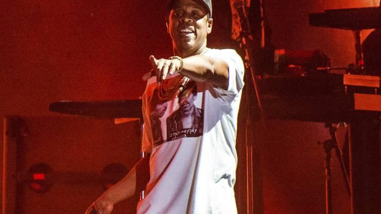 Jay-Z schwingt bei den Grammy-Nominationen obenaus. (Archivbild)