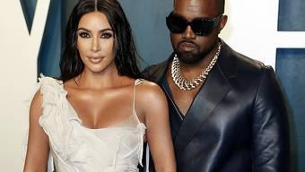 US-Rapper Kanye West hatte unter der Dusche eine Erleuchtung: Er will Präsident werden. Seine Frau Kim Kardashian-West sei seine wichtigste Beraterin. (Foto: Ringo Chiu/EPA/KEYSTONE-SDA)