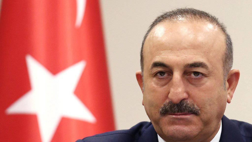 Der türkische Aussenminister Mevlüt Cavusoglu warf der Kurdenmiliz YPG «ethnische Säuberung» vor. (Archivbild)