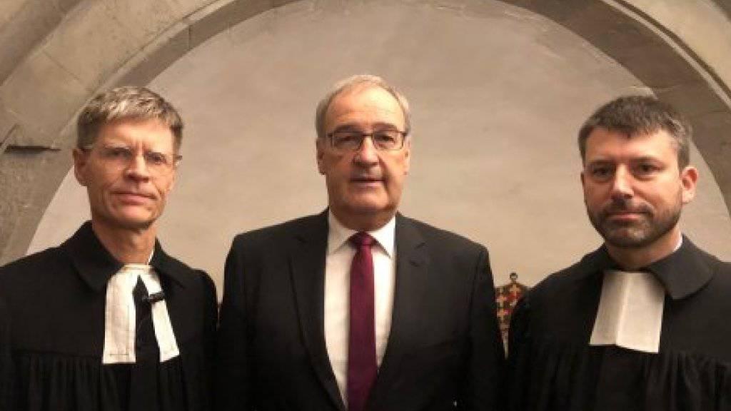 Parmelin und Kirchenbundspräsident predigen gemeinsam