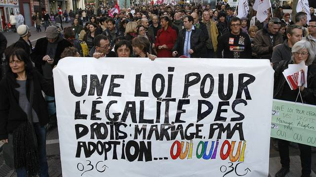 Demonstration vom Samstag in Marseille