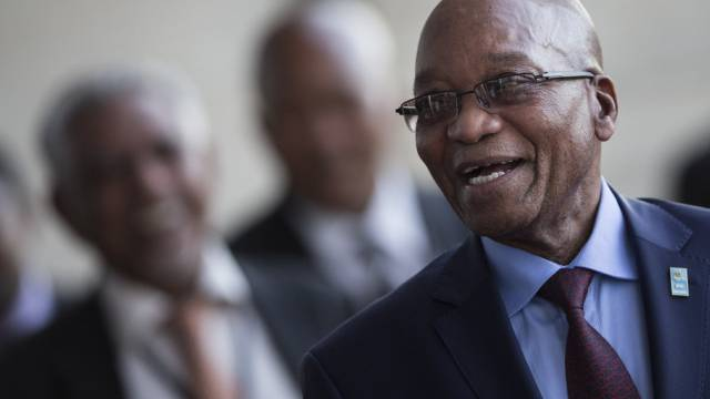 Der südafrikanische Präsident Jacob Zuma (Archiv)