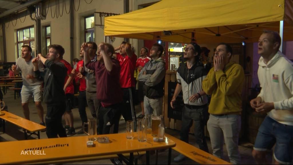 Schweizer-Fussballwunder: Fans ausser Rand und Band