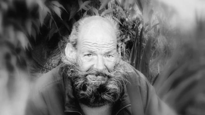 Der Basler Rolf Bantle, fotografiert im Jahr 2008 in Mailand. Er lebte nahezu elf Jahre lang auf der Strasse. Foto: SOYLUPHOTO