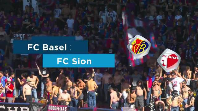 Super League, 2018/19, 4. Runde, FC Basel – FC Sion, Highlights