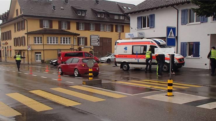 Erst am Donnerstag kam es in Wettingen zu einem schweren Unfall. Ein Knabe wurde von einem Auto angefahren.