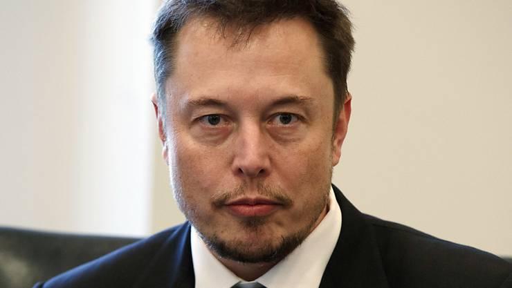 Wirft der US-Börsenaufsicht indirekt vor, Spekulanten zuzuarbeiten: Elons Musik, der umtriebige Chef des Elektroautobauers Tesla. (Archivbild)