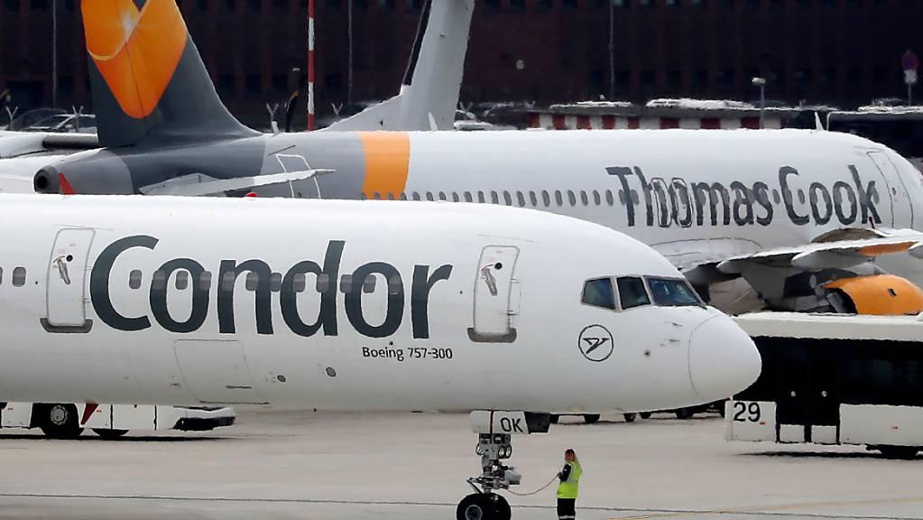 Nach der Pleite des britischen Touristikkonzerns Thomas Cook gewährt der deutsche Staat der deutschen Konzerntochter Condor am Dienstag einen Millionenkredit. (Archivbild)