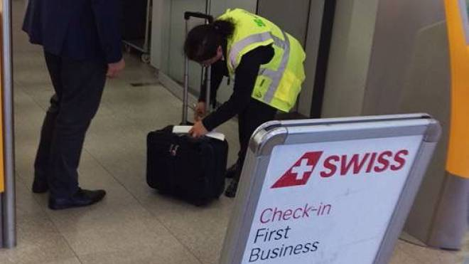 Die Airline verschärft die Kontrolle von Carry-on-Gepäck. Foto: HO