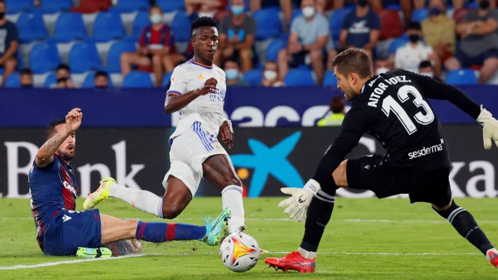 Real Madrid gibt erste Punkte ab