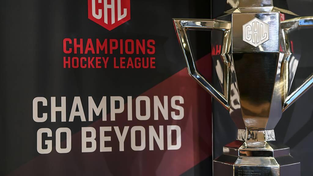 Mitte November startet die Champions Hockey League